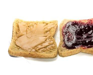 Tag des Erdnussbutter-und-Marmelade-Sandwich – der amerikanische National Peanut Butter and Jelly Day