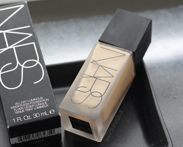 |Review| Nars All Day Luminous Weightless Foundation
