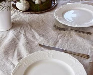 Tischdeko und Veröffentlichung im Silk & Salt Magazine
