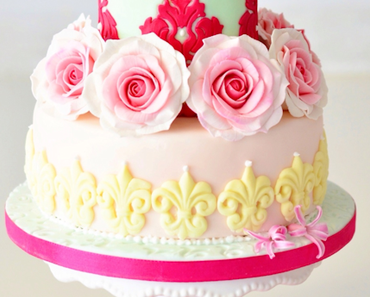 Fleur de Lis Hortensien Torte