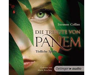 Hörbuchrezension ~ Die Tribute von Panem von Suzanne Collins | Spoiler