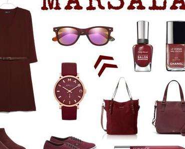 Trendfarbe   Color of the year 2015: Marsala