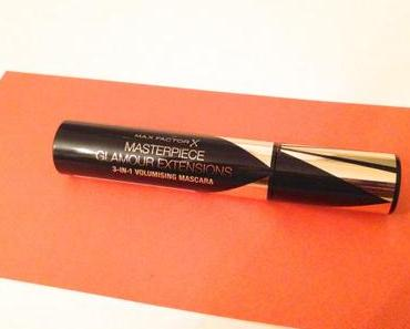 Produkttest – Max Factor Glamour Extensions Mascara