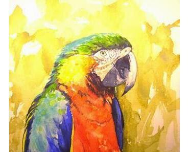 Der Kaufmann und der Papagei - heiteres Gedicht