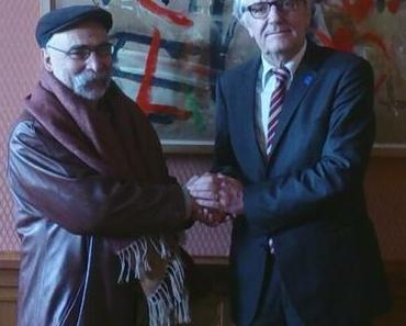 Christoph Strässer im Dialog über Menschenrechtssituation im Iran