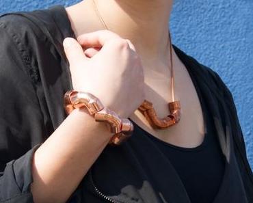 DIY Kupfer-Rohr-Armband