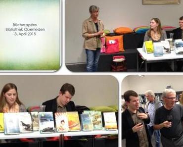 Rückblick: Bücherapéro Bibliothek Oberrieden 8. April 2015