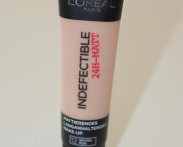 Das L'Oréal Indefectible 24h-Matt Make-up