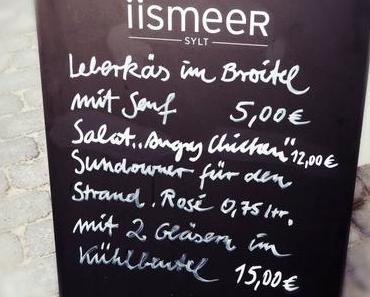 iismeer Sylt…..KNÜPPELKNIFTE, ROMANTIK & BLICK aufs MEER….