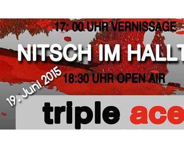 Termintipp: NITSCH IM HALLTAL – Vernissage & Jazz