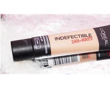 L'Oréal Paris - Indefectible Matt Make-up im Test