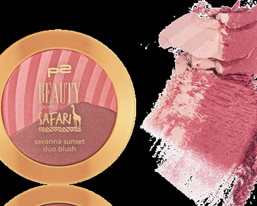 p2 Savanna Sunset Duo Blush | Beauty goes Safari LE