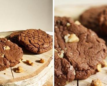 Viva la Cookie-Monster! Die absolute Droge für Schokoholics – Schoko-Cookies mit gaaaaanz viel Schokolade