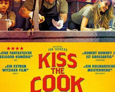 Review: KISS THE COOK - SO SCHMECKT DAS LEBEN - Kulinarische Neuerfindung als sexual healing