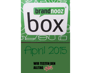 [BRANDNOOZ] April 2015 Box