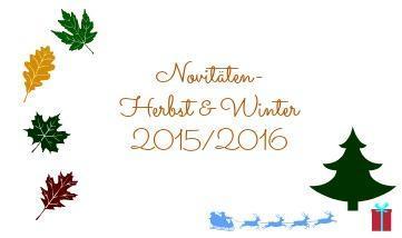 [Dit & Dat] Der Novitäten-Herbst & Winter 2015/2016 bei Heyne fliegt & sonstige