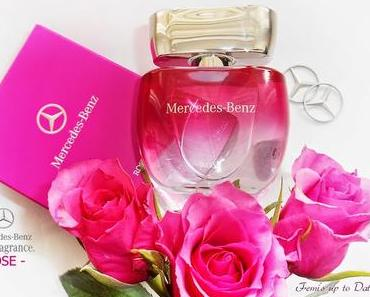 NEW -  MERCEDES-BENZ PERFUMES  ❁ ROSE ❁
