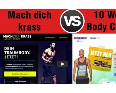 Mach dich krass vs. 10 Weeks BodyChange