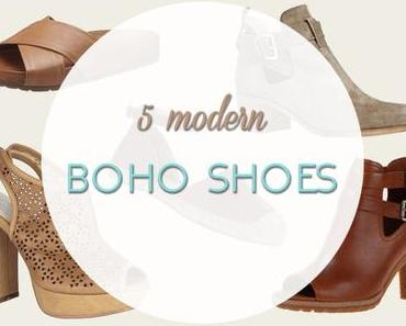 FASHION | 5 modern Boho shoes