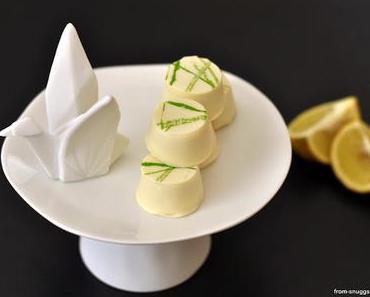 Frühlingsfeeling mit Zitronen-Matcha-Pralinen
