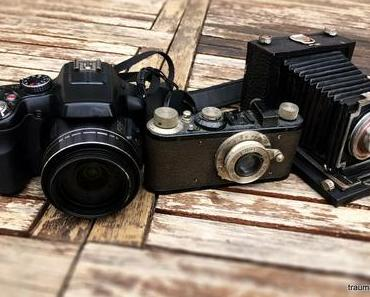 Alte Fotoapparate und das Kreative Sonntagsrätsel #20