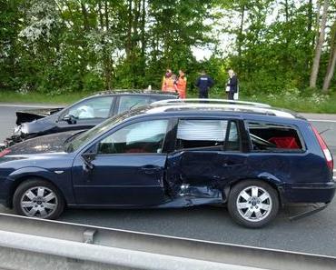 Autounfall Porta Westfalica – Vier Verletzte