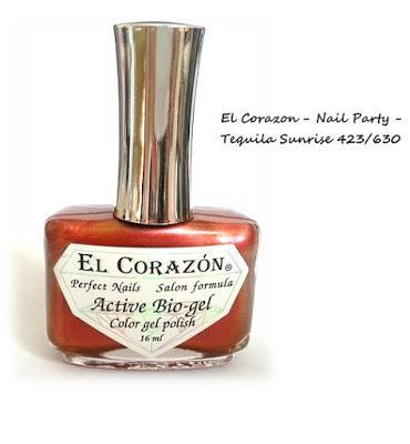 El Corazon - Nail Party - Tequila Sunrise 423/630