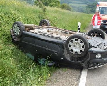 Autounfall Ruppertsecken – Bei Überschlag schwer verletzt