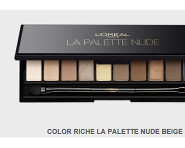 Die neue L'Oréal Nude Palette. Wann ist Drogerie zu teuer?