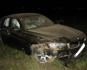 Autounfall Oberhausen  – Mit BMW überschlagen