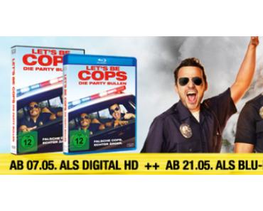 DVD/BLU-RAY-TIPP - LET´S BE COPS - DIE PARTYBULLEN (AB 21. MAI 2015)