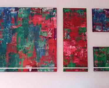 Abstrakte Kunst nach Gerhard Richter