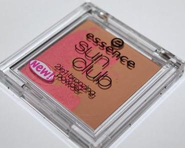 Review: Essence Sun Club 2 in 1 bronzing powder 20 sunset