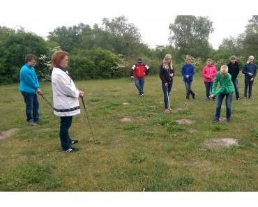Schnuppergolfen mit Schülern der Sekundarschulen Jessen und Annaburg