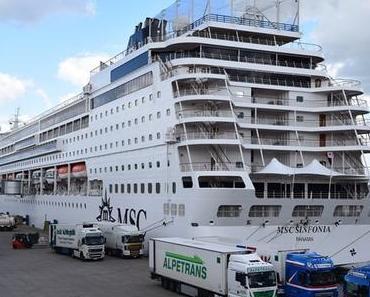 Impressionen einen Nordland-Kreuzfahrt mit der MSC Sinfonia