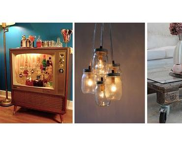 Aus alt mach neu: Ideen für selbstgemachte Möbel dank Recycling