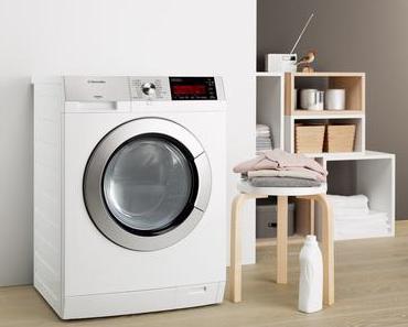 Waschmaschine vor dem Haus: Murphy's Gesetz in der Waschküche