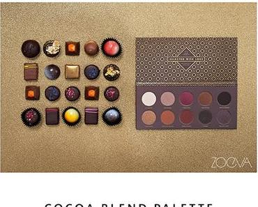 ZOEVA  -  NEU: COCOA BLEND PALETTE - A Taste of Temptation