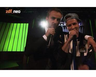 THE HISTORY OF GERMAN RAP // Jan Böhmermann & Dendemann rappen sich durch die deutsche Rap-Geschichte // Video