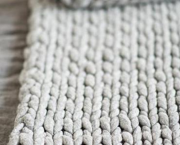Eine Dicke Decke Aus Kammzug Stricken - Tips, Tricks Und Maße