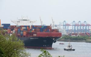 AIDAprima – Erste Container auf dem Weg nach Japan